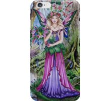Flower forest fairy faerie iPhone Case/Skin