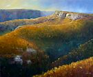 Mt Hay in the afternoon by JennyMac