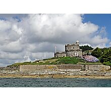 St Mawes Castle from the Ferry Photographic Print