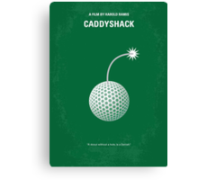 No013 My Caddyshack minimal movie poster Canvas Print