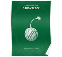 No013 My Caddyshack minimal movie poster Poster