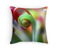 Micro World Throw Pillow