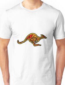 Aboriginal Kangaroo Unisex T-Shirt