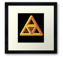Triforce Paradox Framed Print