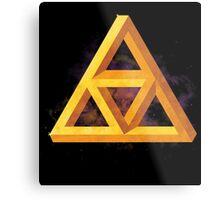 Triforce Paradox Metal Print