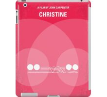 No016 My Christine minimal movie poster iPad Case/Skin