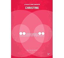No016 My Christine minimal movie poster Photographic Print