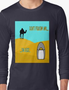 Penguin in the Desert Long Sleeve T-Shirt