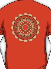 Rusty Skull mandala  T-Shirt