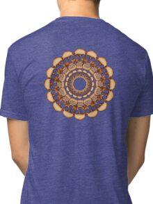 Rusty Skull mandala  Tri-blend T-Shirt