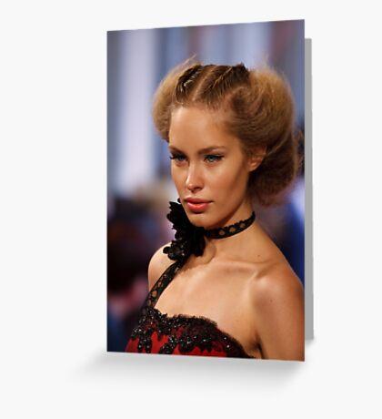 Melbourne Fashion Week Greeting Card