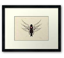 Anne Frank Framed Print