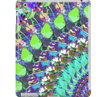 Abstract Collage of Colors iPad Case/Skin