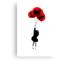 Poppy Girl Canvas Print