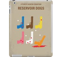 No069 My Reservoir Dogs minimal movie poster iPad Case/Skin