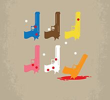No069 My Reservoir Dogs minimal movie poster by JiLong