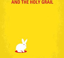 No036 My Monty Python And The Holy Grail minimal movie poster by JiLong