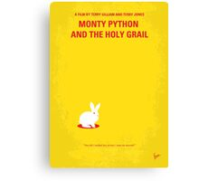 No036 My Monty Python And The Holy Grail minimal movie poster Canvas Print