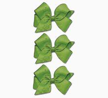 Green Bows Kids Tee