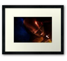 iron man.. Framed Print