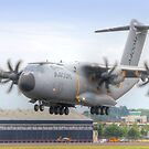 Airbus A400M Atlas Landing - Farnborough 2014 by Colin  Williams Photography