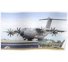 Airbus A400M Atlas Landing - Farnborough 2014 Poster