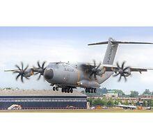 Airbus A400M Atlas Landing - Farnborough 2014 Photographic Print