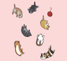 Kitten Rain Kids Tee