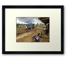 Cameroon bush. Framed Print