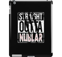Straight Outta Nublar iPad Case/Skin