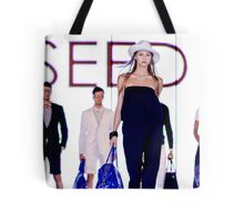 The Geeks and The Babe Tote Bag