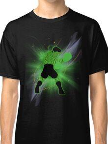 Super Smash Bros. Little Mac Wire Frame Silhouette Classic T-Shirt