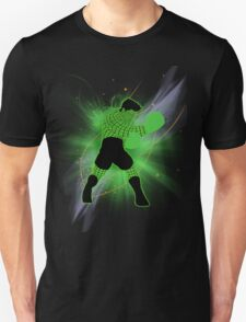 Super Smash Bros. Little Mac Wire Frame Silhouette Unisex T-Shirt