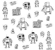 Robots by Lerika