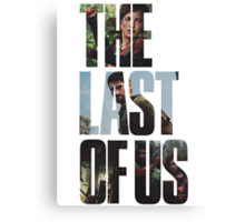 The Last of Us - Masked Canvas Print