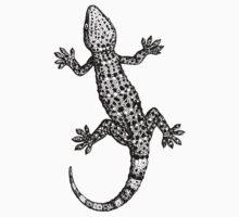 Lizard Gecko One Piece - Short Sleeve