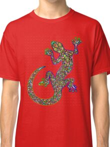 Psychedelic Lizard Gecko  Classic T-Shirt