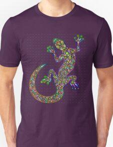Psychedelic Lizard Gecko  T-Shirt