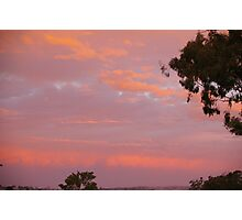 A sunset reflection after a storm Photographic Print