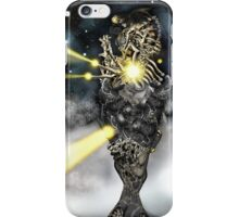 Electronic Rabbit Fighters [Digital Science-Fiction Drawing] iPhone Case/Skin