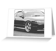 JDM S15 Greeting Card