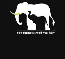 Only elephants should wear ivory funny geek nerd T-Shirt
