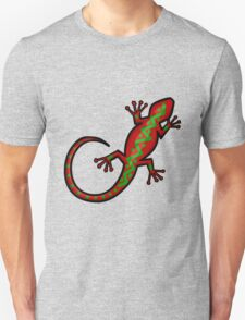Aboriginal Gecko Lizard T-Shirt