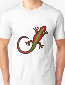 Aboriginal Gecko Lizard T-Shirt