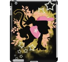 Super Smash Bros. Pink Diddy Silhouette iPad Case/Skin