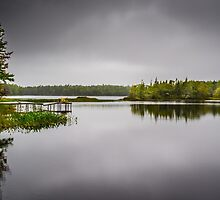 Sisters Lake Storm by mlphoto