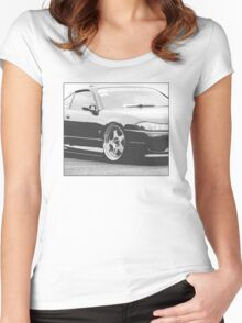 JDM S15 Women's Fitted Scoop T-Shirt