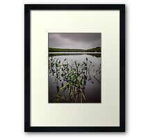 Stormy Day at Sisters Lake Framed Print