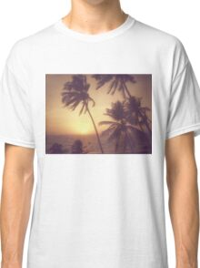 Sand, Beach, Sunset Classic T-Shirt