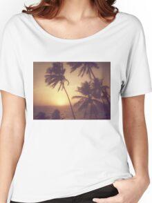 Sand, Beach, Sunset Women's Relaxed Fit T-Shirt